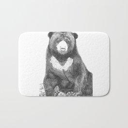 Malayan Sun Bear (Beruang Madu) Bath Mat