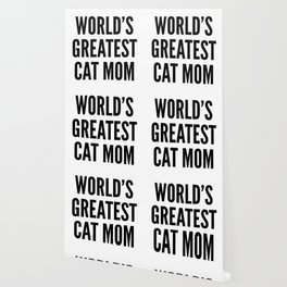 WORLD'S GREATEST CAT MOM Wallpaper