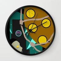 bioshock Wall Clocks featuring Bioshock by Chandler Payne