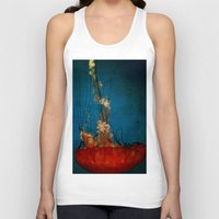 under the sea Tank Tops featuring Under The Mystic Sea by Bella Blue Photography