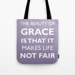 The Beauty of Grace (Purple Haze) Tote Bag
