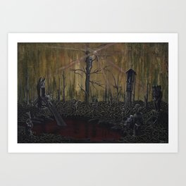 Playground (Hill of Witches), 2020 Art Print
