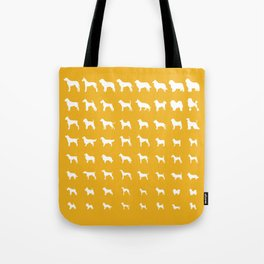 All Dogs (Gold) Tote Bag