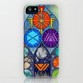 Shattered Vanguard iPhone Case