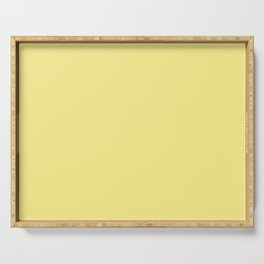 Daffodil Yellow - Solid Color Collection Serving Tray