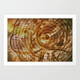 Interference Art Print