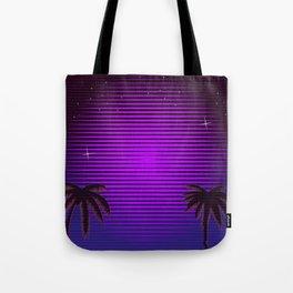 Sci-fi Miami Beach Tote Bag