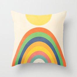 Sunlight Retro III Throw Pillow