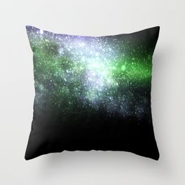 Falling sparkles Throw Pillow