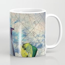 Black Marlin Coffee Mug