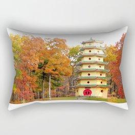 Jade Buddha Pagoda Rectangular Pillow