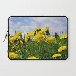 Dandelion meadow Laptop Sleeve