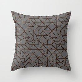 Masculine Geometric Patterns   Modern   Minimalist Throw Pillow