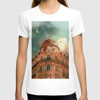 france T-shirts featuring Montpellier  - France by Victoria Herrera