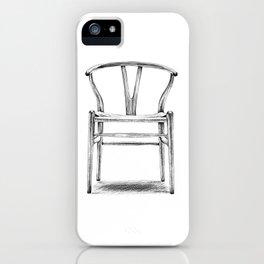 Hans Wegner - Wishbone Chair iPhone Case
