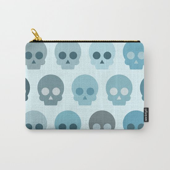Colorful Skull Cute Pattern II Carry-All Pouch