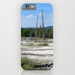 Yellowstone Geysers iPhone Case