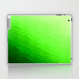 Green Texture Ombre Laptop & iPad Skin