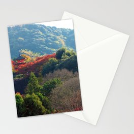 Autumn Temple Stationery Cards