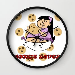 Cookie Lover Wall Clock