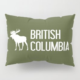 British Columbia Moose Pillow Sham