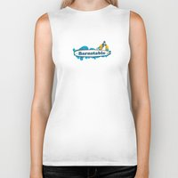 cape cod Biker Tanks featuring Barnstable Cape Cod by America Roadside