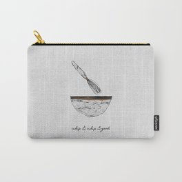 Whip It Good, Music Quote Carry-All Pouch