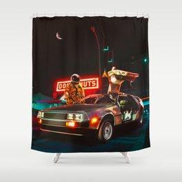 2:37am Shower Curtain