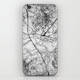 Mapping it out iPhone Skin