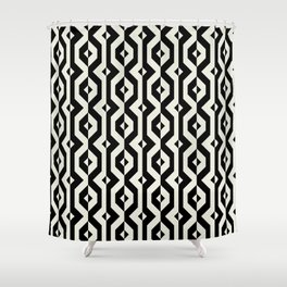 Modern bold print with diamond shapes Shower Curtain