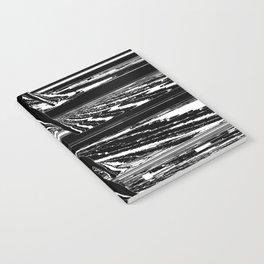 Black & White Glitch Notebook
