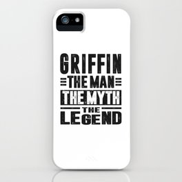 Griffin The Legend iPhone Case