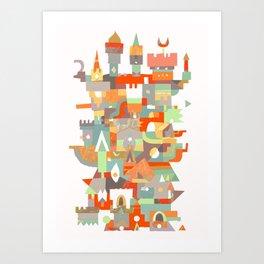 Structura 8 Art Print