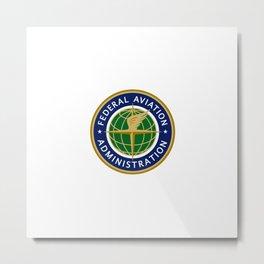 The FAA Logo Metal Print