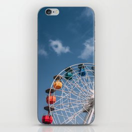 Colourful Ferry Wheel iPhone Skin