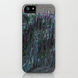 perfectly corrupted iPhone Case