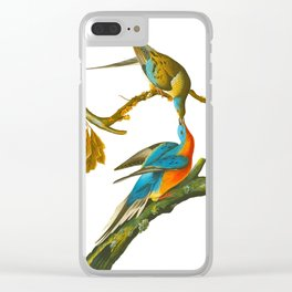 Passenger Pigeon Clear iPhone Case