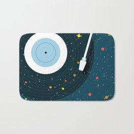 Space Vinyl Bath Mat