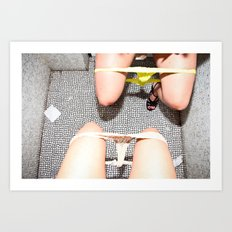 Ladies Room Art Print