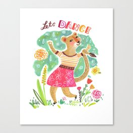 Lets Dance Canvas Print