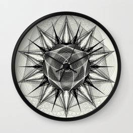 styr stryy monochrome Wall Clock