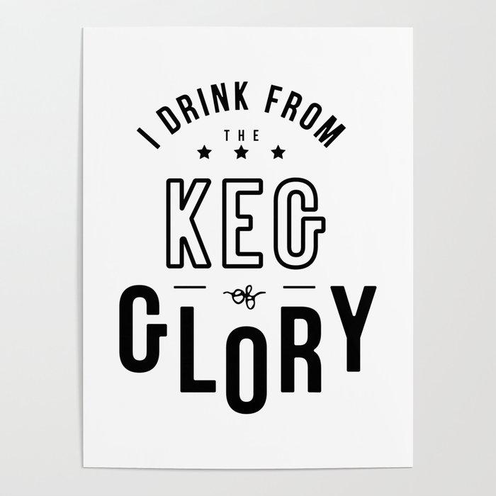 Keg of Glory Poster