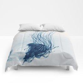 Deep Blue Sea #3 Comforters