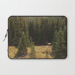 Rocky Mountain Creek Elk Laptop Sleeve