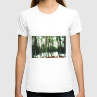 woodland T-shirts featuring Woodland by PRETTY BONES LEE