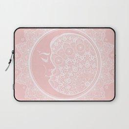 Mandala Moon Pink Laptop Sleeve