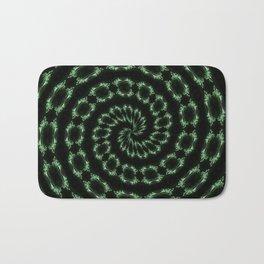 Green Sparkle Bath Mat