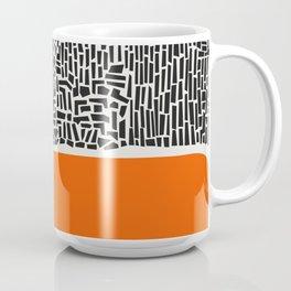City Sunset Abstract Coffee Mug