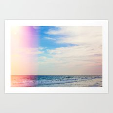 Dream Beach Art Print