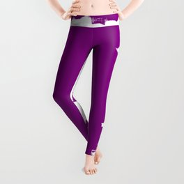 Purple balance Leggings